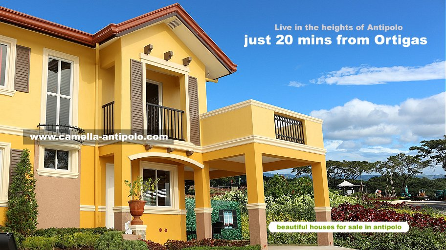CAMELLA ANTIPOLO - House and Lot for Sale in Antipolo City, Philippines