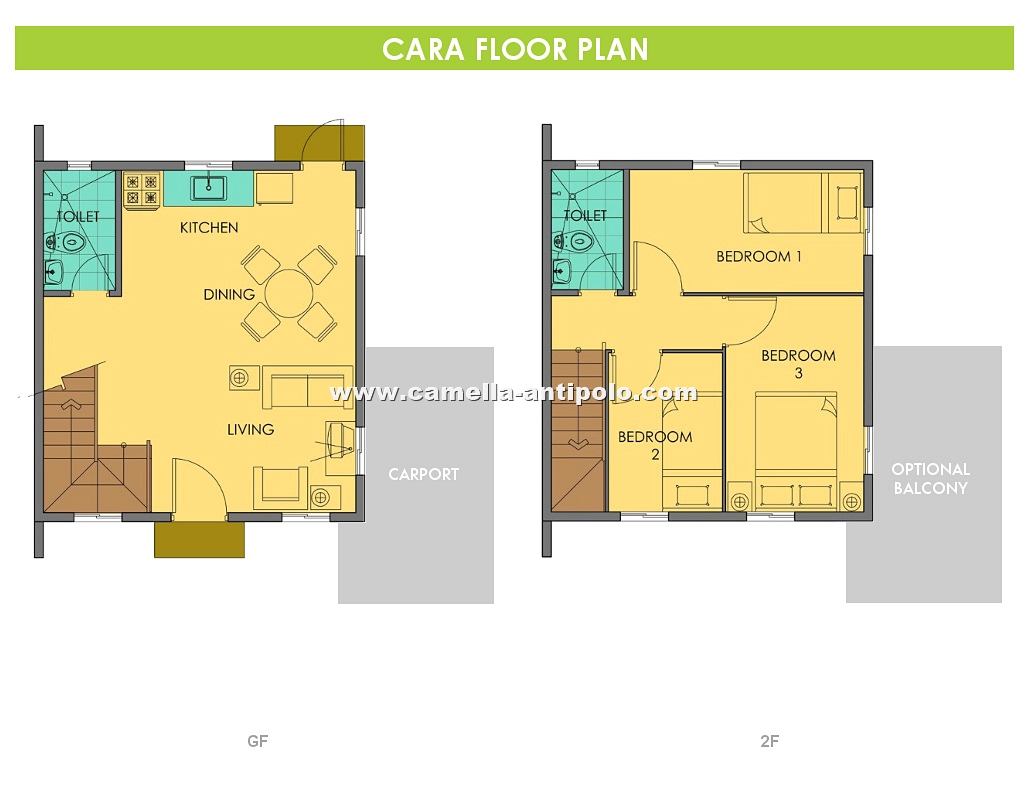 Cara House for Sale in Camella Antipolo