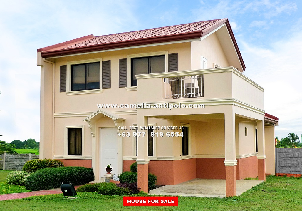 Camella antipolo elaisa house for sale in antipolo for 2 storey house for sale