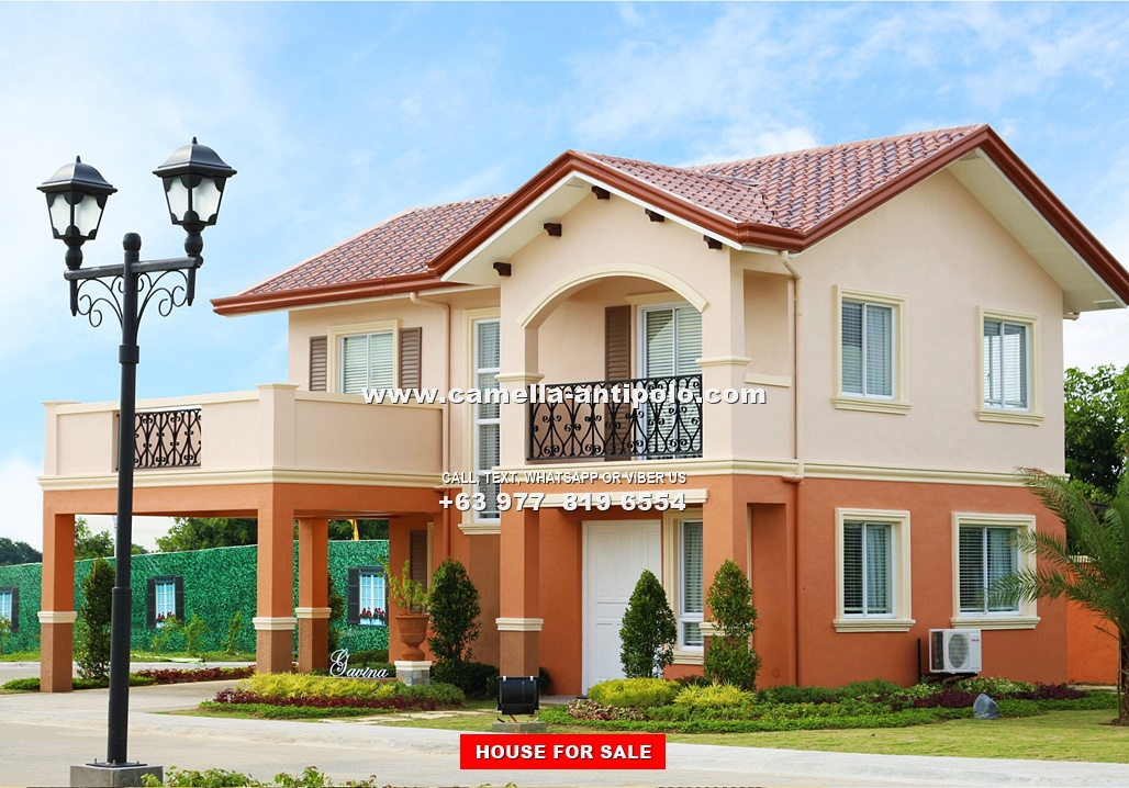 Gavina House for Sale in Camella Antipolo