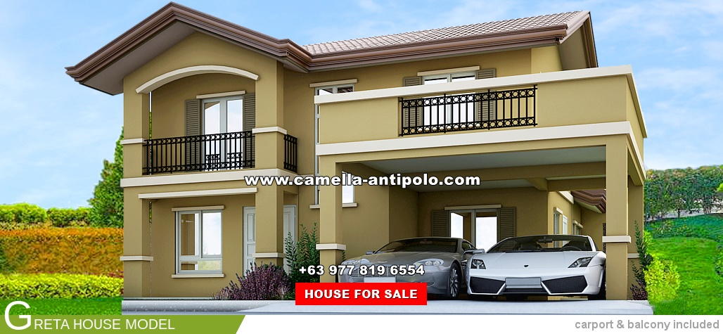 House For Sale In Antipolo City Camella Greta House Model on houses for sales antipolo philippines