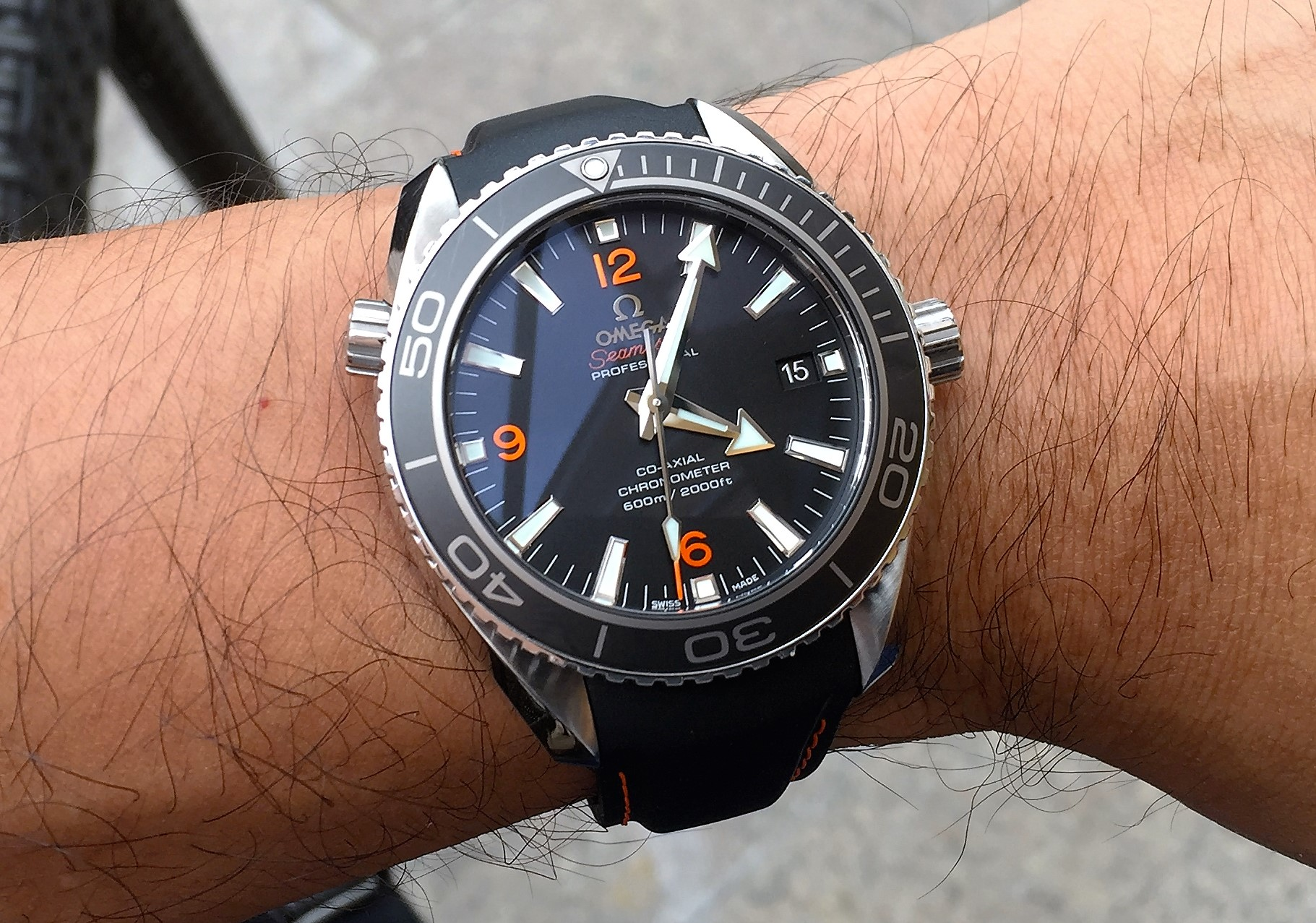 Our Fist Omega Purchase Omega Seamaster Planet Ocean